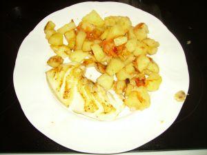 Pommes de terre rôties,