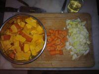 Préparation Purée de potimarron et carotte