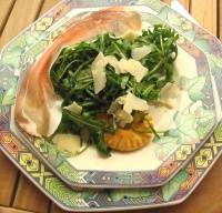 Assiette de salade italienne