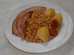 Assiette servie pour une personne