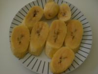 banane coupées