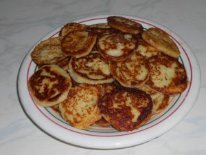Beignets de purée de pommes de terre