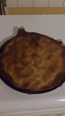 bigalan  ou gâteau de pommes de terre