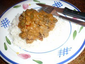 boeuf au curry rouge à la thaï
