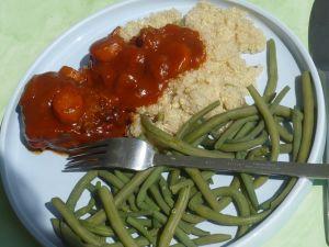 boeuf sauce tomate piquante