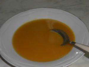 Une bonne soupe chaude lorsqu'il fait froid dehors