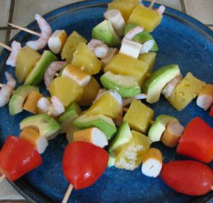 brochettes exotiques