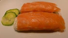 Buchettes de saumon