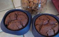 cake chocolat banane en version mini