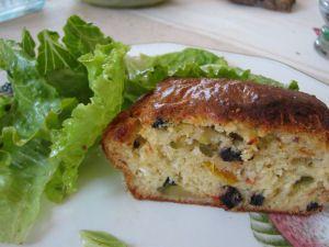 cake végétarien aux légumes