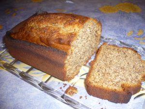 cake miel noix