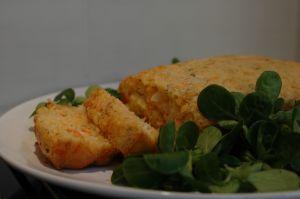 Cake saumon surimi