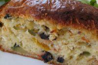 cake végétarien aux légumes de la ratatouille