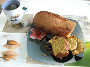 Cake verveine menthe