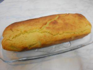 Cake au yaourt sans gluten au citron