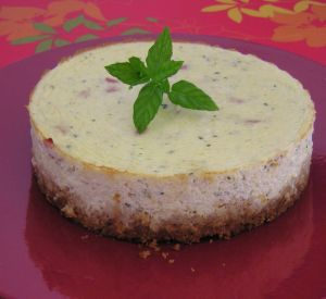 Cheesecake courgette et bacon