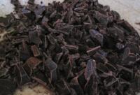 Chocolat patissier en copeaux