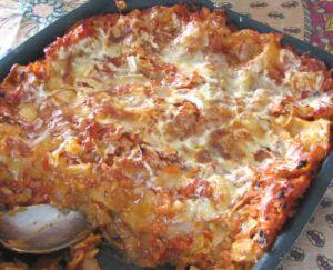 chou en lasagnes