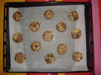 cuisson des  Cookies fait maison