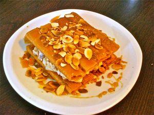 Craquant Breizh poires amandes caramel
