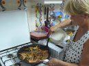 préparer  les crevettes