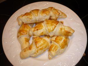 croissants aux pommes cassonade