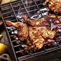 Cuisses de poulet grillé aux épices