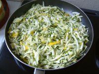 cuisson des courgettes