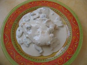 escalopes de poulet à la crème