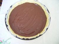 Etaler le chocolat fondu
