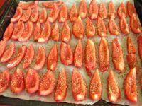Faire confire les tomates