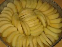 Fines tranches de pomme