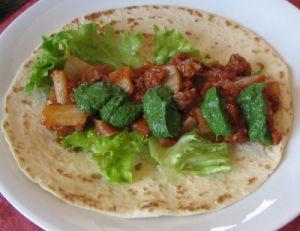 Galettes mexicaines aux blettes