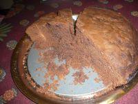 Le gâteau au chocolat riche