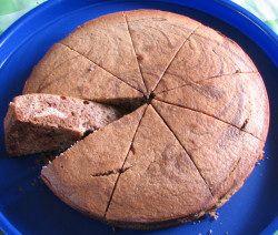 gateau marbré chocolat sans gluten sans lait