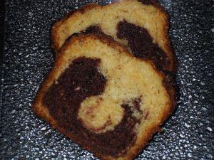 Gateau Au Yaourt Marbre Au Chocolat