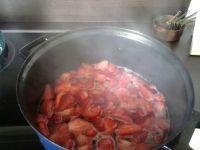fraise en cuisson