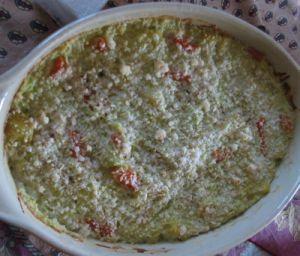 gratin de légumes sans gluten sans lait