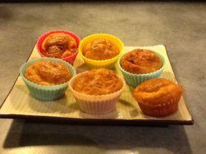 Muffins chorizo-gruyère
