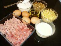 ingrédients du cake aux noix