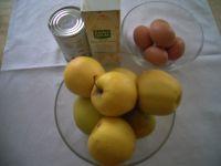 Ingrédients pour Flan aux pommes
