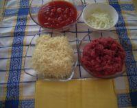 Ingrédients pour Lasagne à la bolognaise