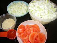 Ingrédients : légumes d'été