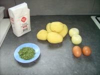 Les ingrédients nécessaires à la préparation