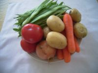 De jolis légumes frais