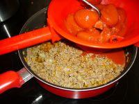 Préparation dela viande à lasagne