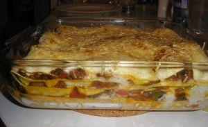 Lasagnes aux légumes et Reblochon