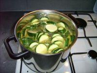 Vos légumes, au début de la cuisson