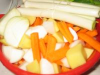 Les légumes du pot au feu