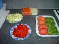 Vos légumes, prêt à être poêlé